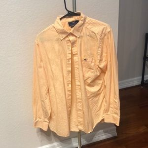 Vineyard Vines M Slim Fit Orange Tucker Shirt